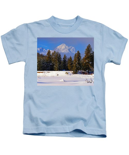 Peaking Through Kids T-Shirt