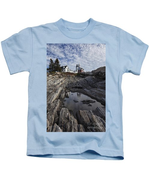 Pemaquid Lighthouse Kids T-Shirt