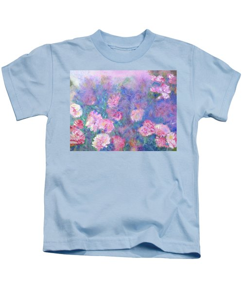Peonies Kids T-Shirt