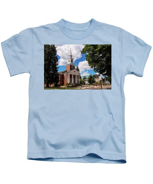Phillips Stevens Chapel, Williston Northampton School, Easthampton, Ma Kids T-Shirt