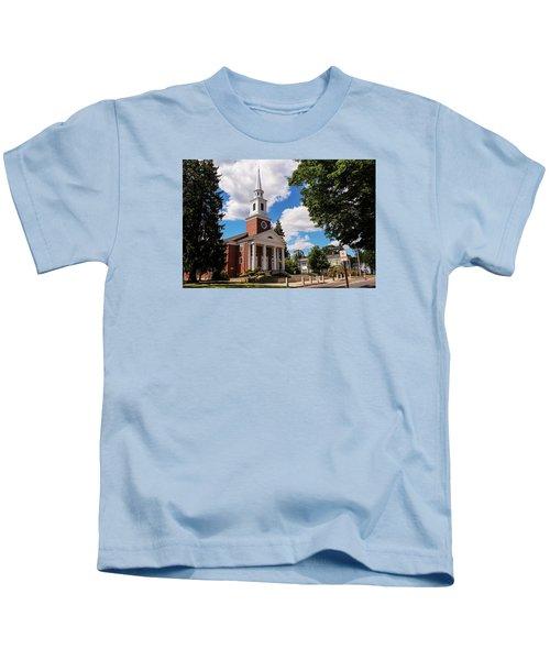 Phillips Stevens Chapel, Williston Northampton School, Easthampton, Ma Kids T-Shirt