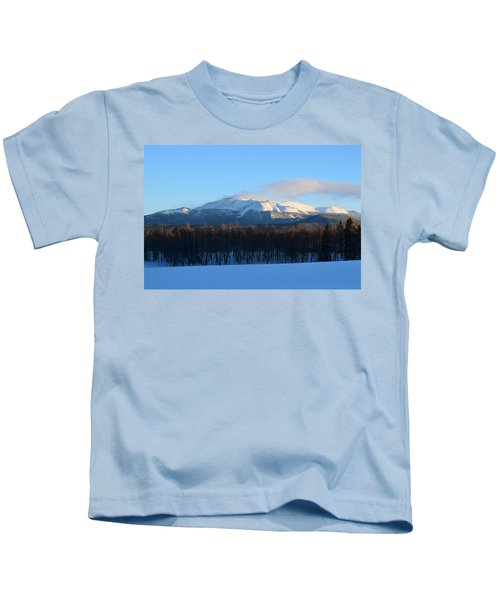 Pikes Peak From Cr511 Divide Co Kids T-Shirt