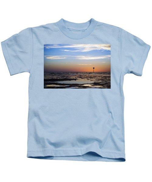 Pine Island Sunset Kids T-Shirt