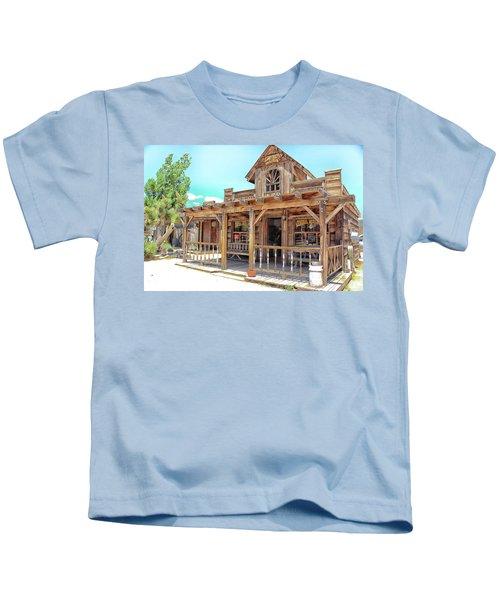 Pioneertown, Usa Kids T-Shirt