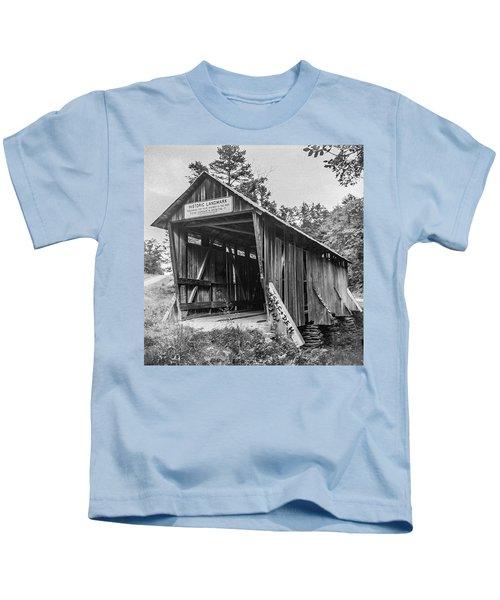 Pisgah Covered Bridge No. 1 Kids T-Shirt