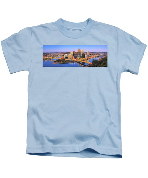 Pittsburgh Pano 22 Kids T-Shirt