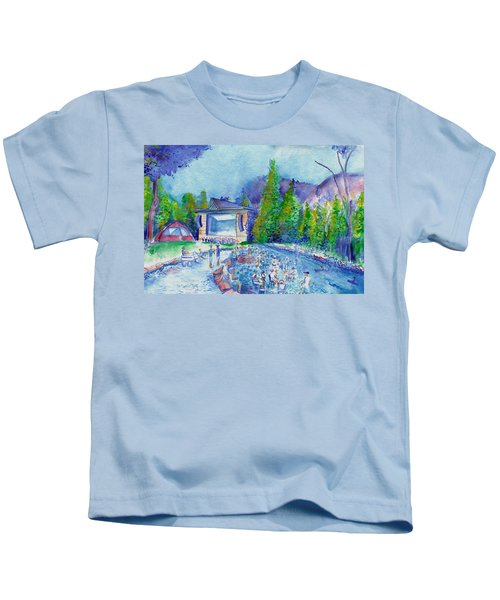 Planet Bluegrass Lyons Colorado Kids T-Shirt