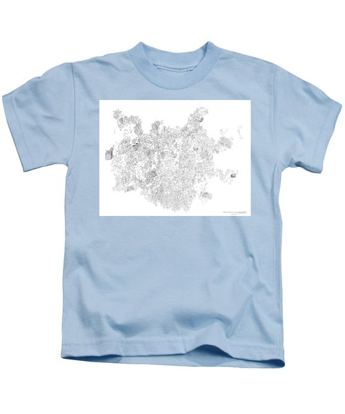 Polymer Crystallization With Modifiers Kids T-Shirt