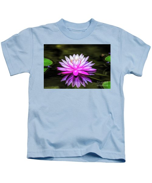 Pond Water Lily Kids T-Shirt