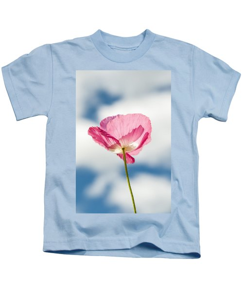 Poppy In The Clouds Kids T-Shirt