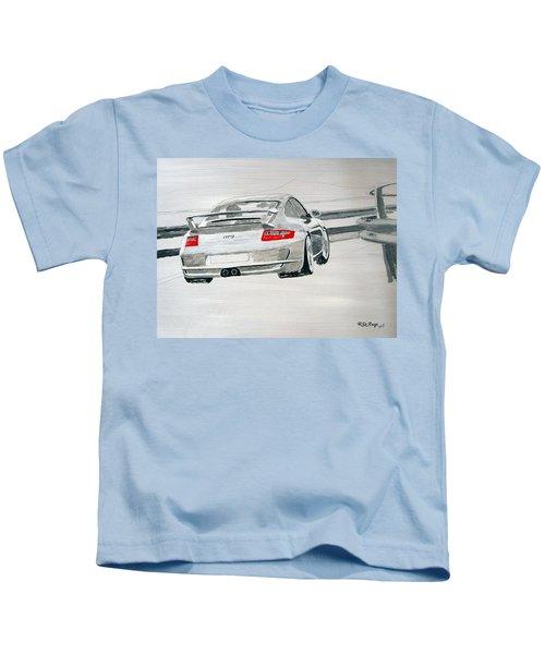Porsche Gt3 Kids T-Shirt