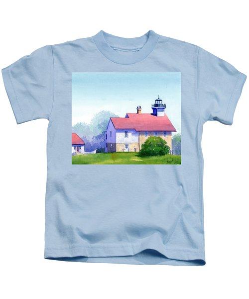 Port Washington Lighthouse Kids T-Shirt