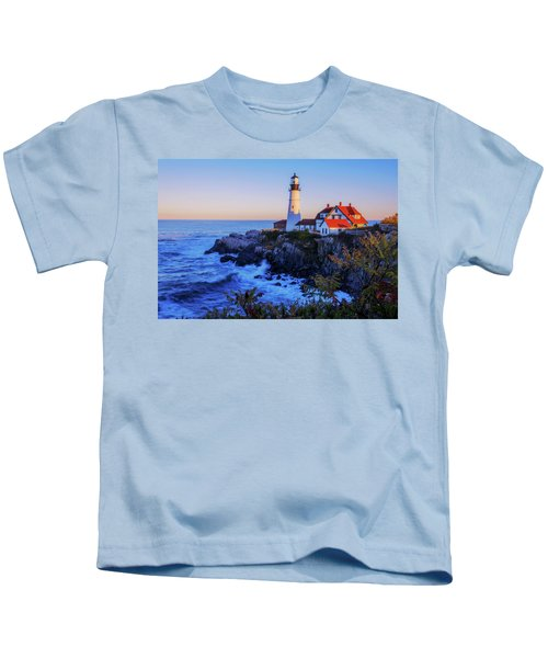 Portland Head Light II Kids T-Shirt