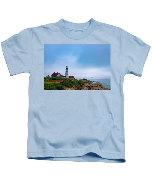 Portland Head Lighthouse Kids T-Shirt