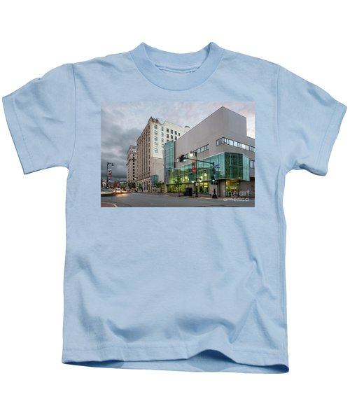 Portland Public Library, Portland, Maine #134785-87 Kids T-Shirt
