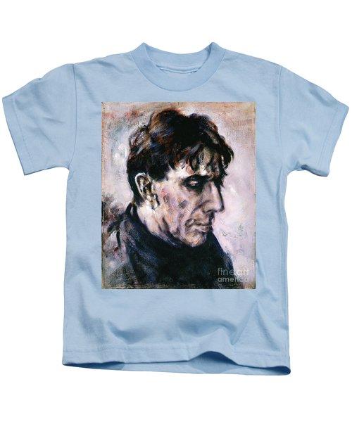 Portrait Of John Cale Kids T-Shirt