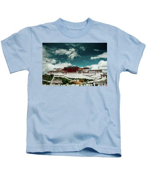 Potala Palace. Lhasa, Tibet. Artmif.lv Kids T-Shirt