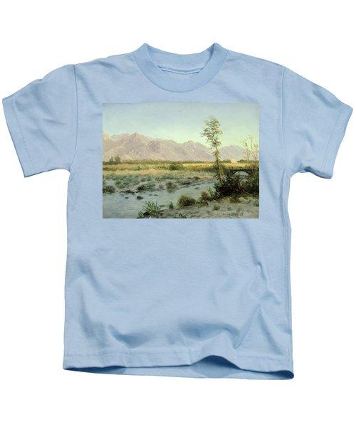 Prairie Landscape Kids T-Shirt
