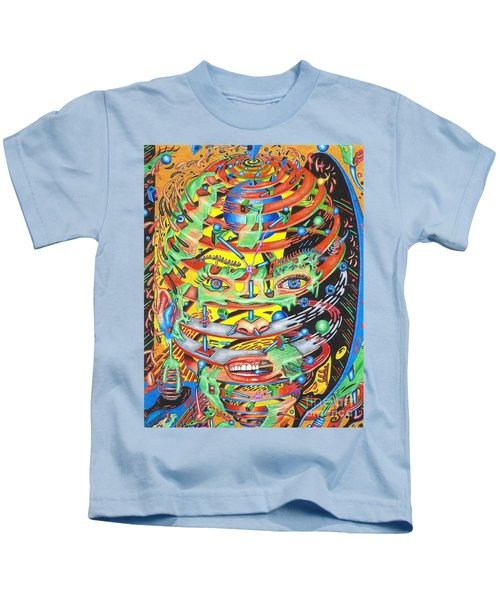 Primordial Inception Of Life At Daybreak Kids T-Shirt