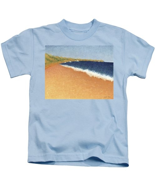 Pt. Reyes Beach Kids T-Shirt