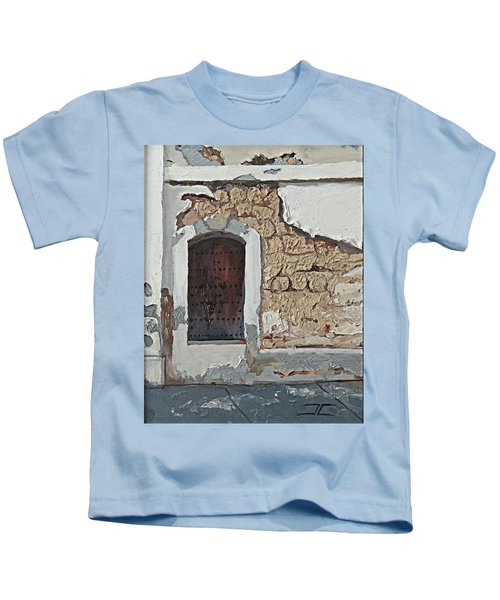 Puerto Rico Door Kids T-Shirt