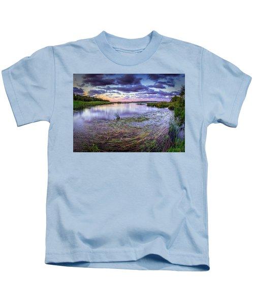 Purple Bay Kids T-Shirt