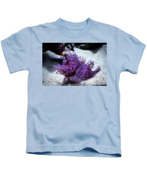 Purple Lace Kids T-Shirt