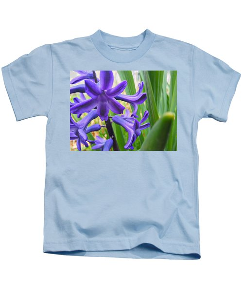 Purple Spring Kids T-Shirt