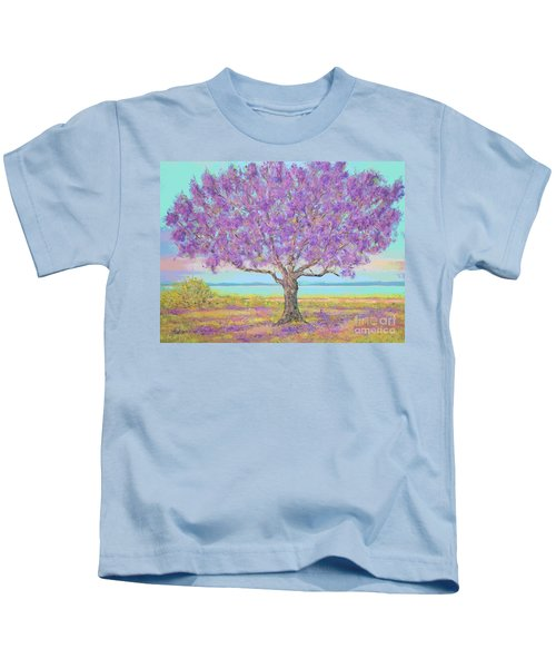 Purple Tree Kids T-Shirt