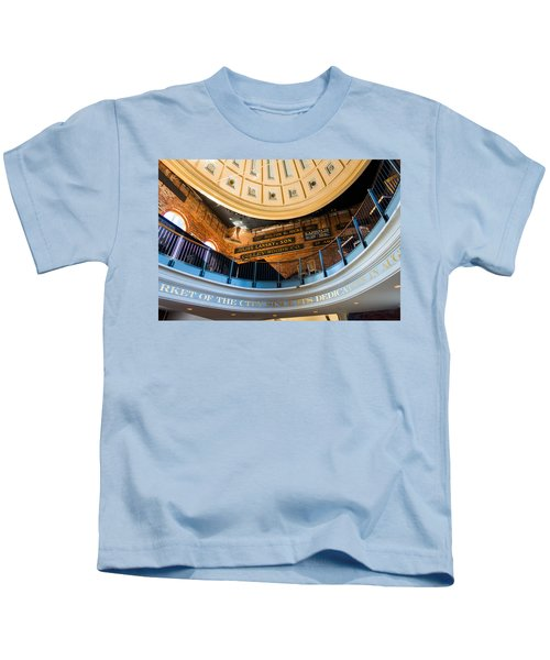 Quincy Market Vintage Signs Kids T-Shirt