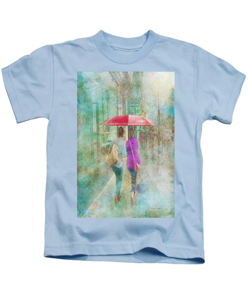 Rainy In Paris 1 Kids T-Shirt