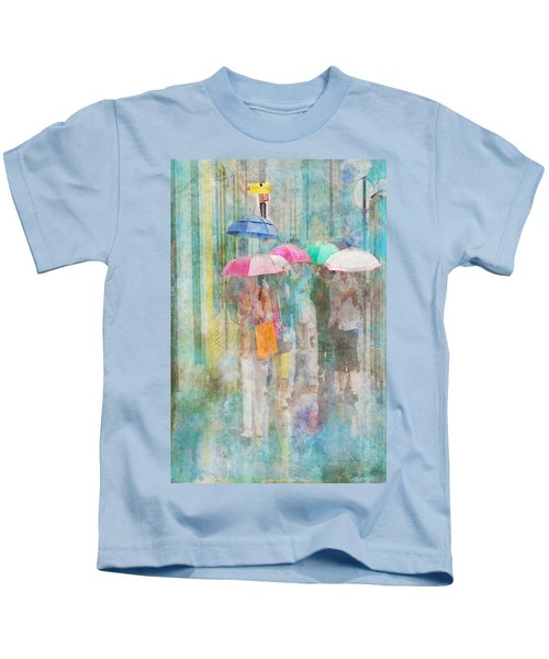 Rainy In Paris 2 Kids T-Shirt