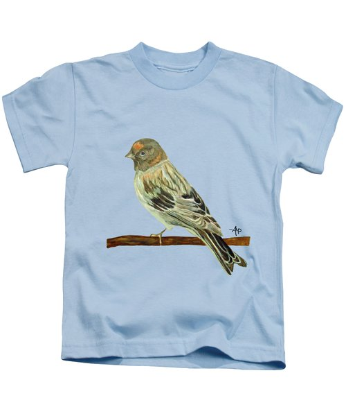 Red-fronted Serin Kids T-Shirt