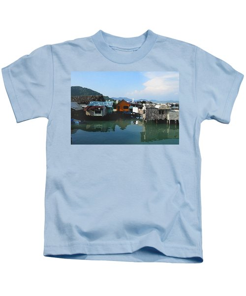 Red House On The Water Kids T-Shirt