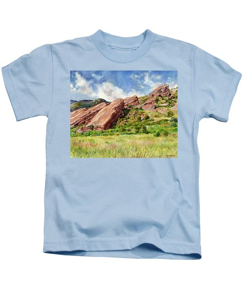 Red Rocks Amphitheatre Kids T-Shirt