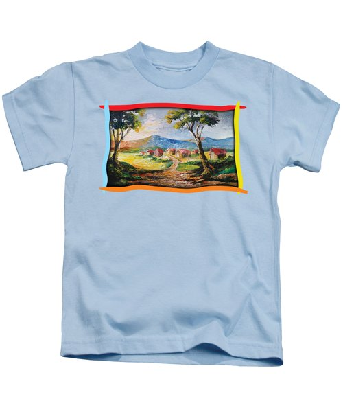 Red Roofs Kids T-Shirt
