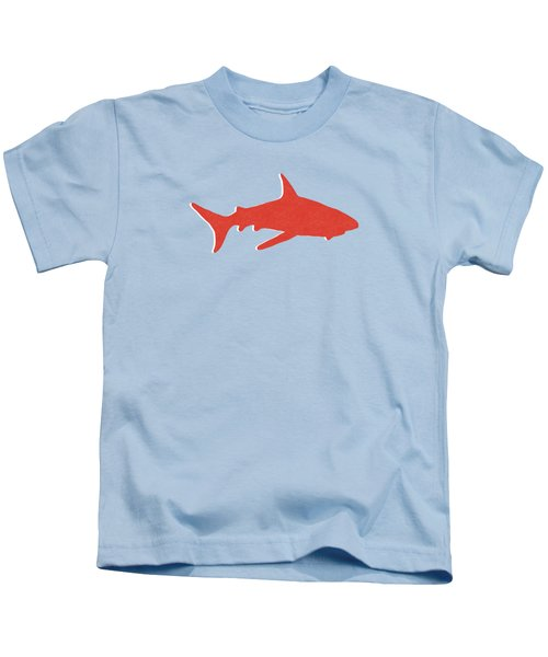 Red Shark Kids T-Shirt