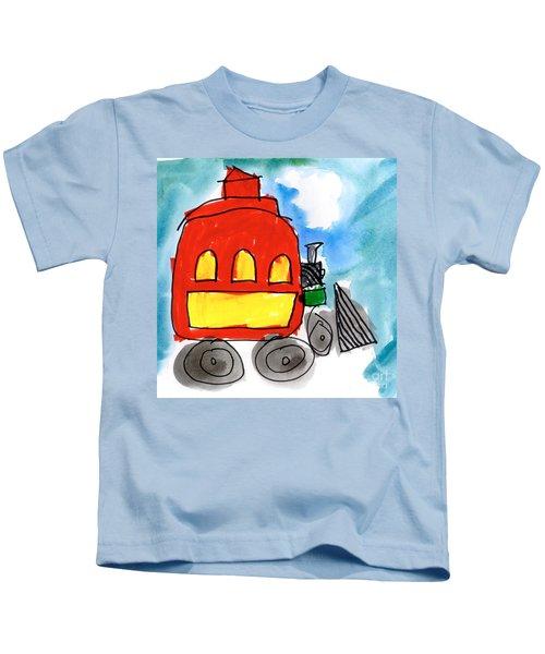 Red Train Kids T-Shirt