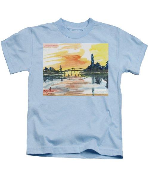Reflecting Bridge Kids T-Shirt
