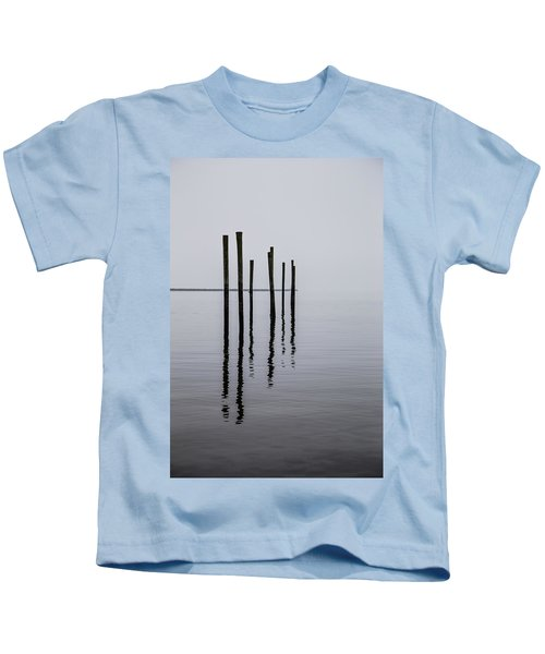 Reflecting Poles Kids T-Shirt