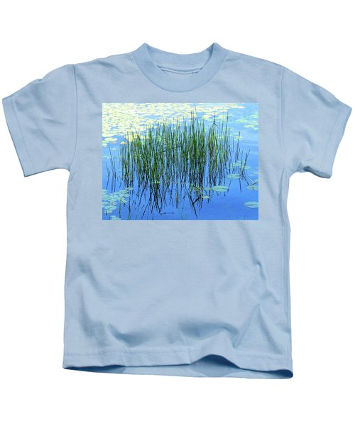 Reflections In The Bay Kids T-Shirt