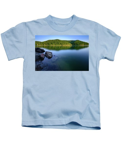 Reflections Of Tranquility Kids T-Shirt