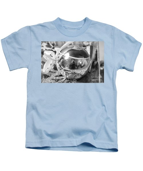 Reflections On A Self Portrait Kids T-Shirt