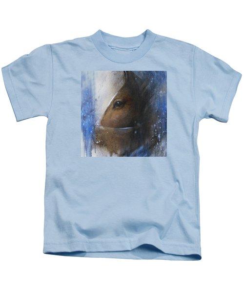 Reflective Horse Kids T-Shirt