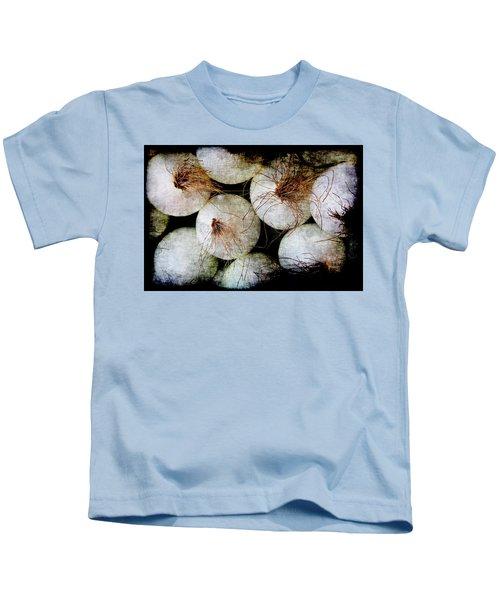 Renaissance White Onions Kids T-Shirt