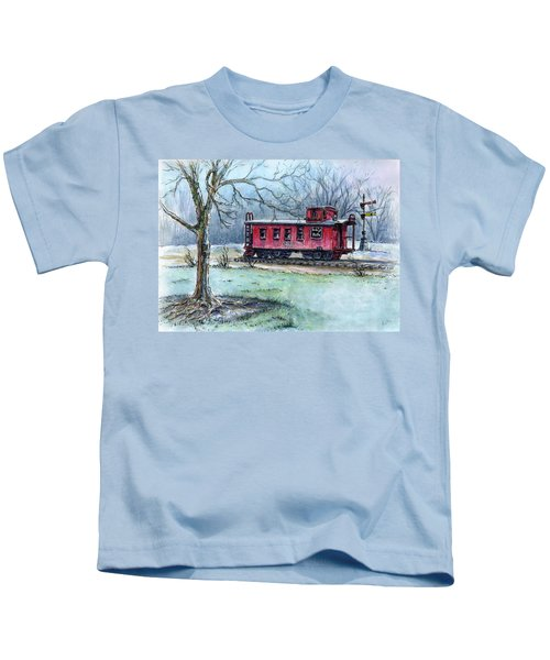 Retired Red Caboose Kids T-Shirt