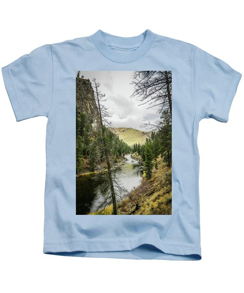 River In The Canyon Kids T-Shirt