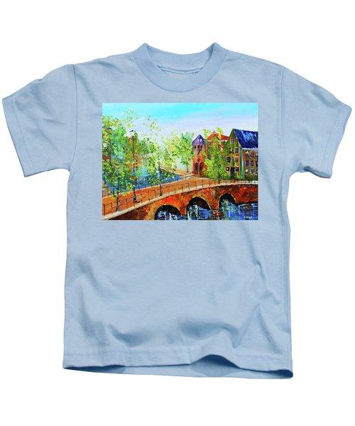River Runs Through It Kids T-Shirt
