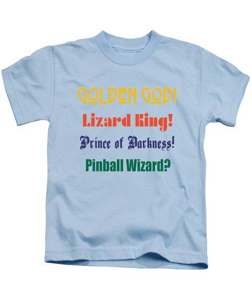 Rock Gods Kids T-Shirt