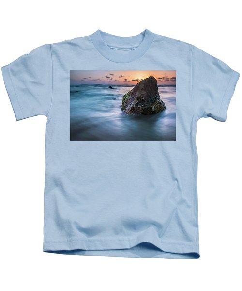Rocks At Sunset 4 Kids T-Shirt